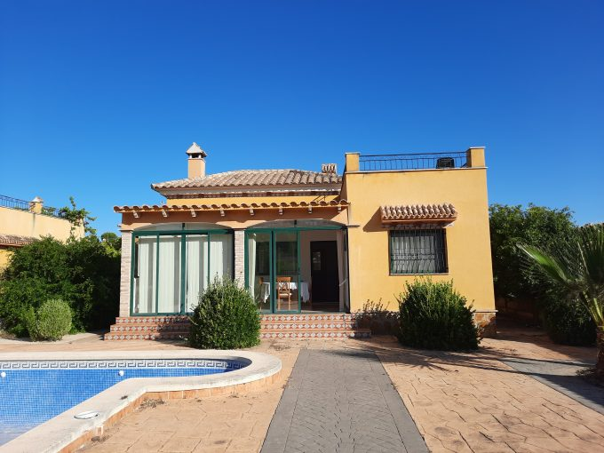 RESERVED !!!!     TWO BEDROOM VILLA WITH A SWIMMING POOL FOR SALE