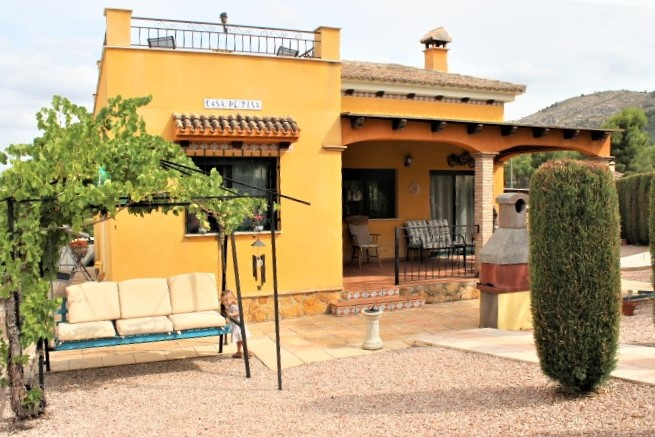 !!RESERVED!TWO BEDROOM VILLA FOR SALE IN CALASPARRA